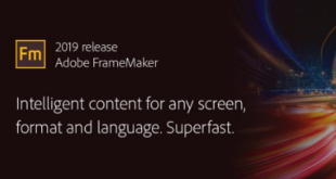 Adobe FrameMaker Free Download 2019