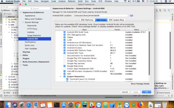 Android Studio 3.3 + SDK 26.1.1 Free Download Linux Windows macOS