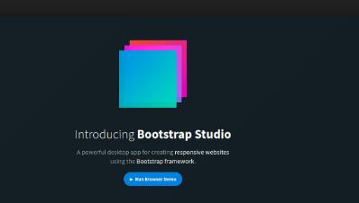 Bootstrap Studio 4.3.7 Professional Download Free