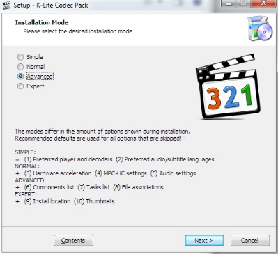 K-Lite Mega Codec Pack 14.7 Download Free