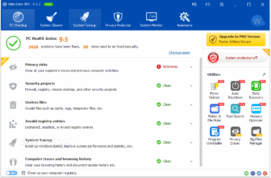 Wise Care 365 Pro 5.2.5 Download Free