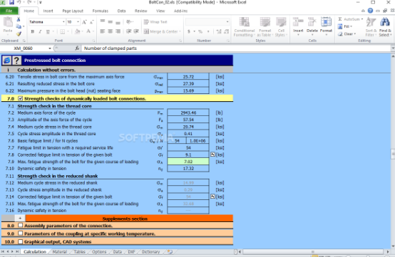 MITCalc Download Free Latest Version