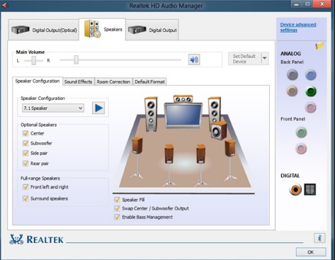 Realtek High Definition Audio Drivers 6.0.1.8648 Download Free