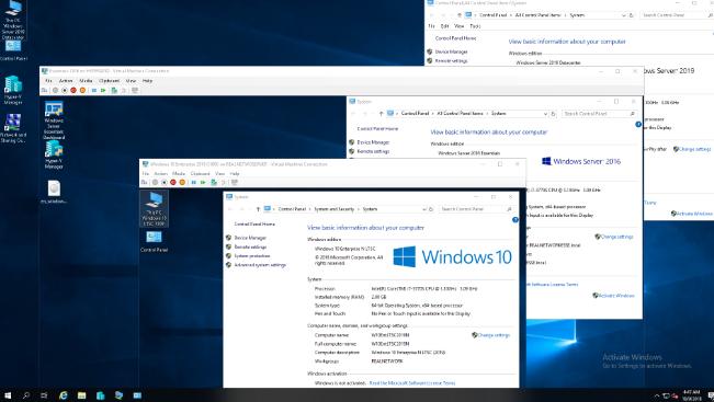Windows Server 2019 Standard and DataCenter 2019 Download Free