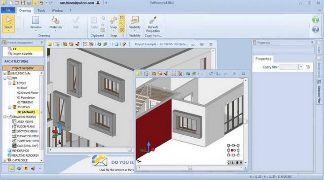 Edificius 3D Architectural BIM Design