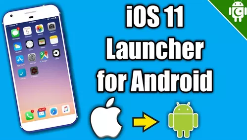 IOS Launcher APK