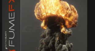 FumeFX 5 for 3ds Max 2014-2020