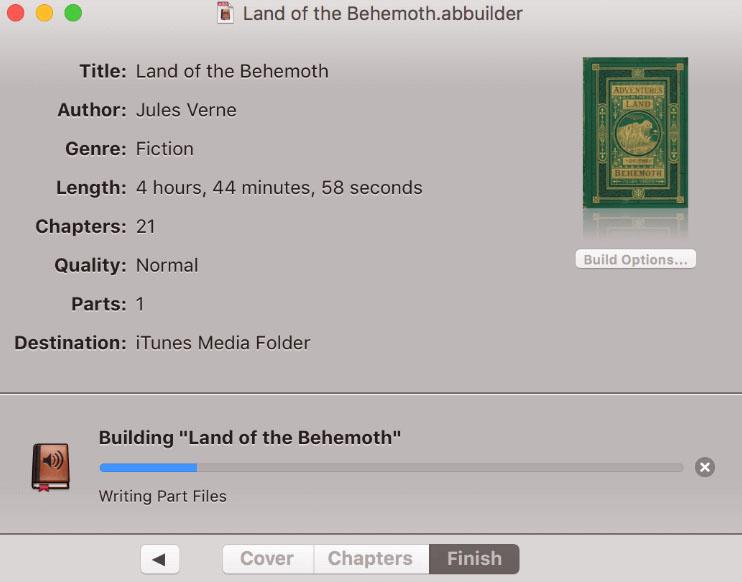 Audiobook Builder 2.1 Free Download