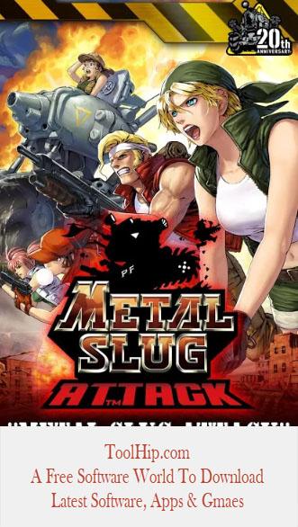 METAL SLUG ATTACK MOD APK 4.20.0 (Infinite AP) Download