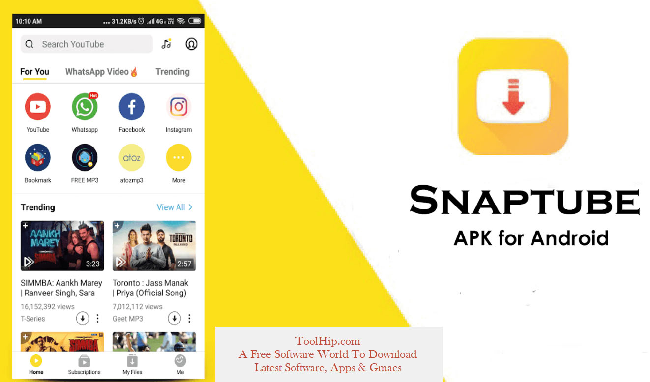 SnapTube MOD APK 4.81.0.4811910 (Beta + Final) Download