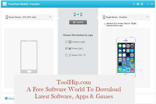FonePaw Mobile Transfer 2.1.0 Free Download