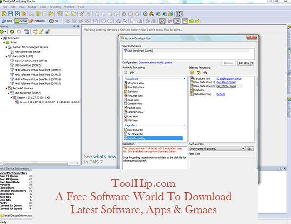HHD Software Serial Monitor Ultimate 8.10.00.8925 Free Download
