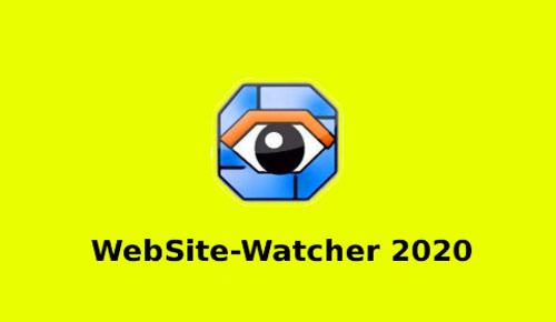 WebSite-Watcher 2020 20.0 Free Download