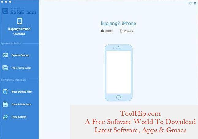 Wondershare SafeEraser 4.9.9 Free Download