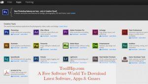 Adobe Creative Cloud Download