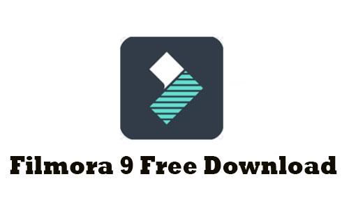 Wondershare Filmora 9 (2020 Latest) Free Download