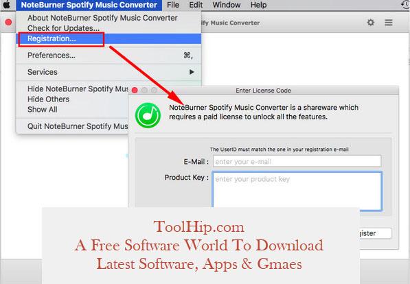 NoteBurner Spotify Music Converter Free