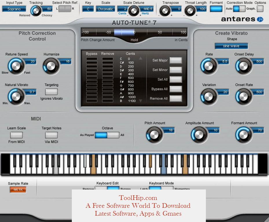 AutoTune Evo VST Free Download