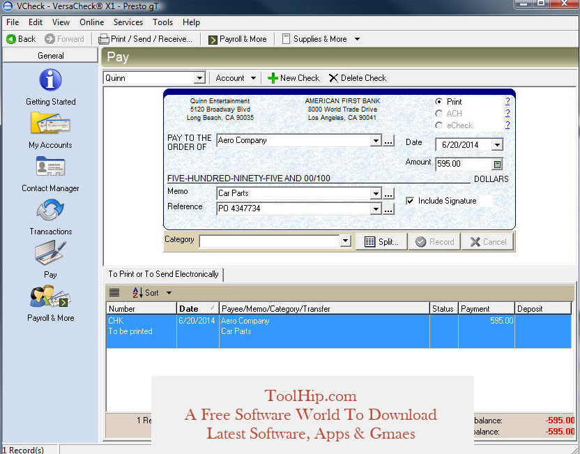 Checksoft Download