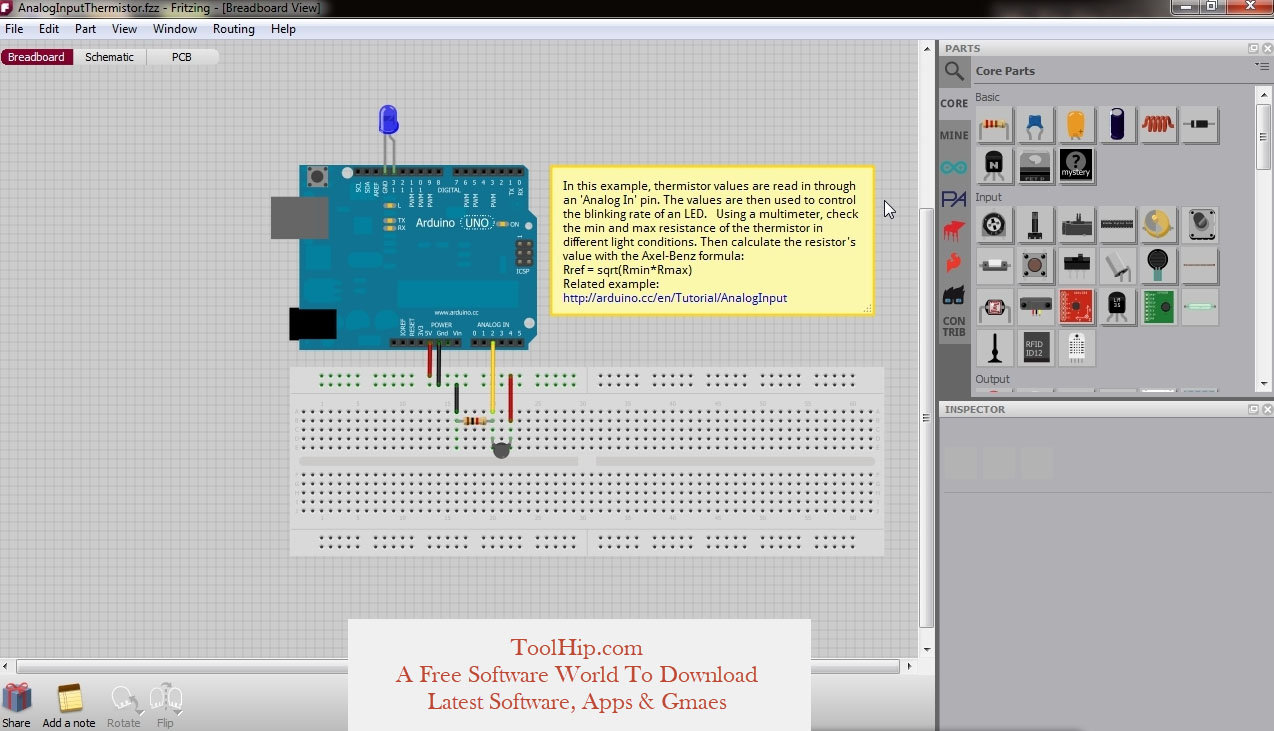 Fritzing free Download