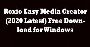 Roxio Easy Media Creator Free Download for Windows