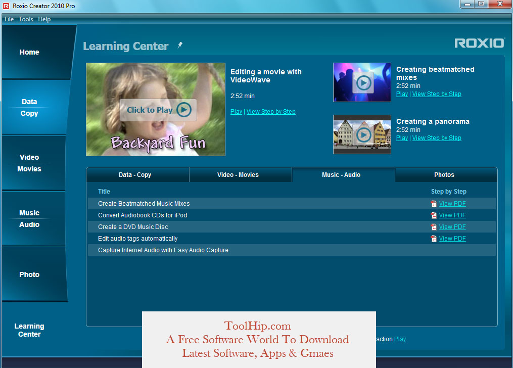 Roxio Easy Media Creator Free Download