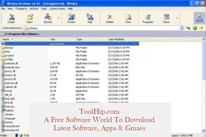 WinAce Free Download
