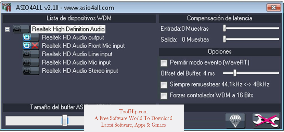 ASIO4ALL Drivers Download Free