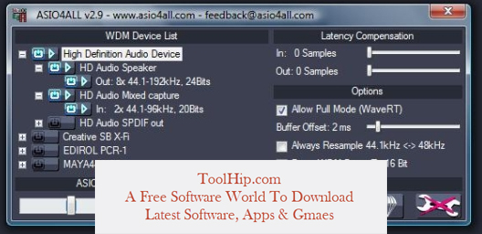 ASIO4ALL Free Download