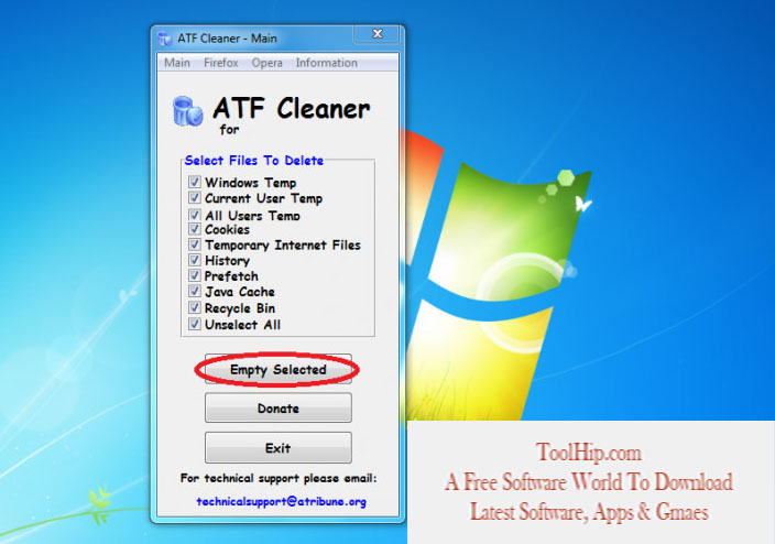 ATF Cleaner Free Download