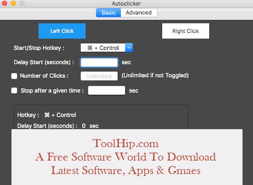Auto Clicker for MAC Download