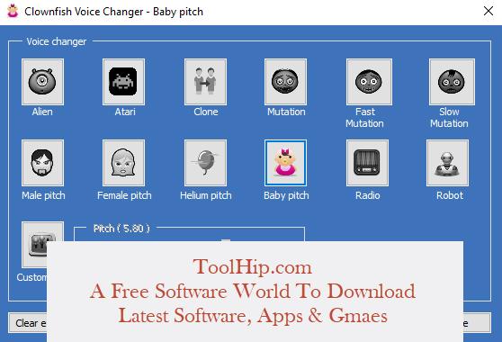 Clownfish Voice Changer Download