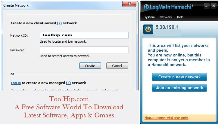 LogMeIn Hamachi Free Download