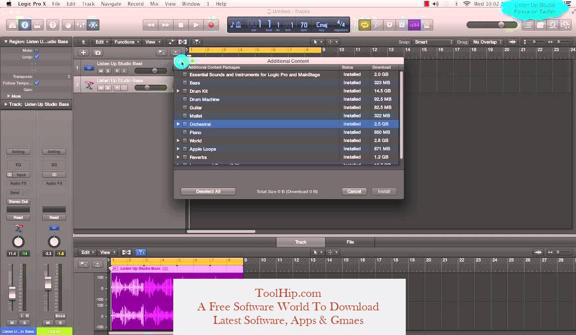 Logic Pro X Free Download