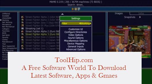 MAME Emulator Download Windows