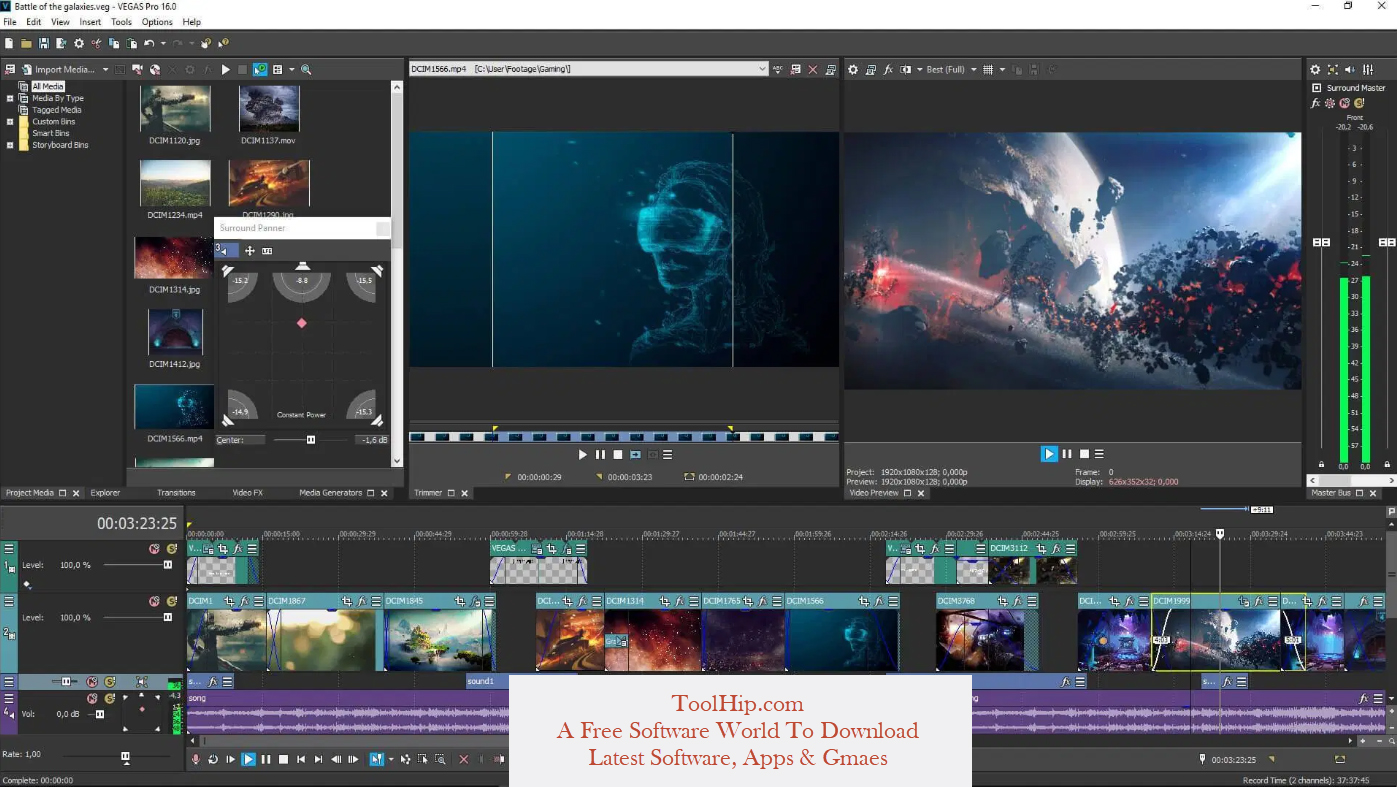 Sony Vegas Pro Download Free