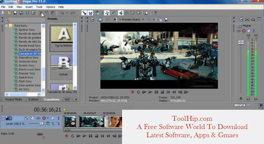 Sony Vegas Pro Free Download