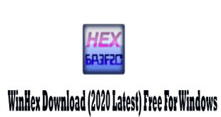 WinHex 19.9 Free Download For Windows