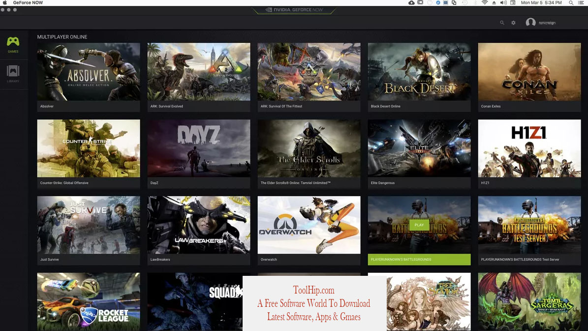 GeForce NOW Free Download