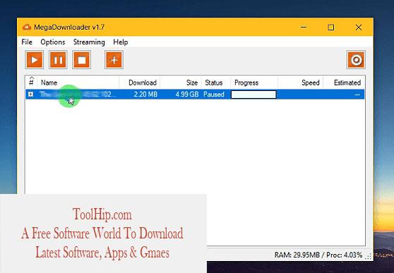 Mega Downloader Free