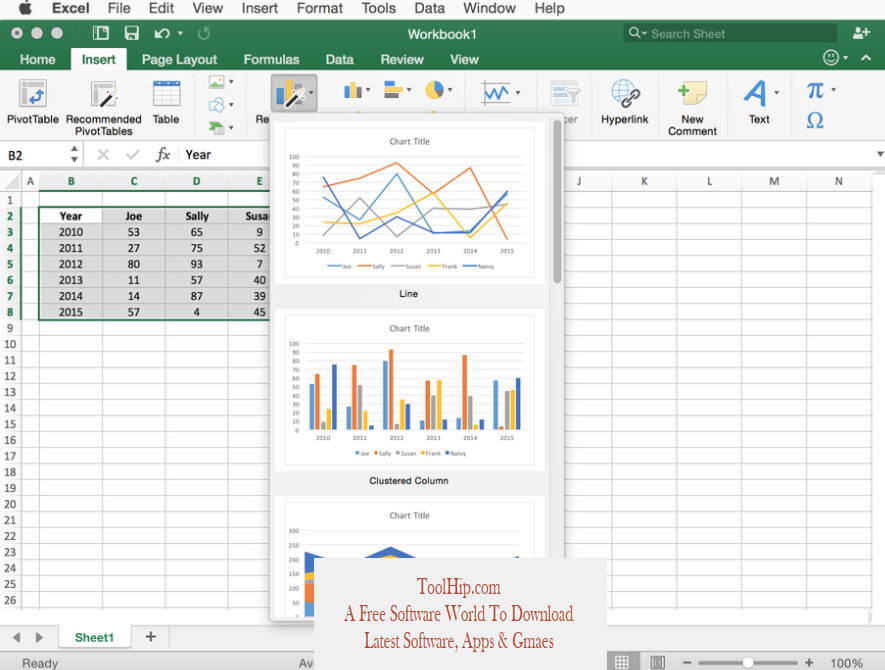 Microsoft Excel for Mac Download