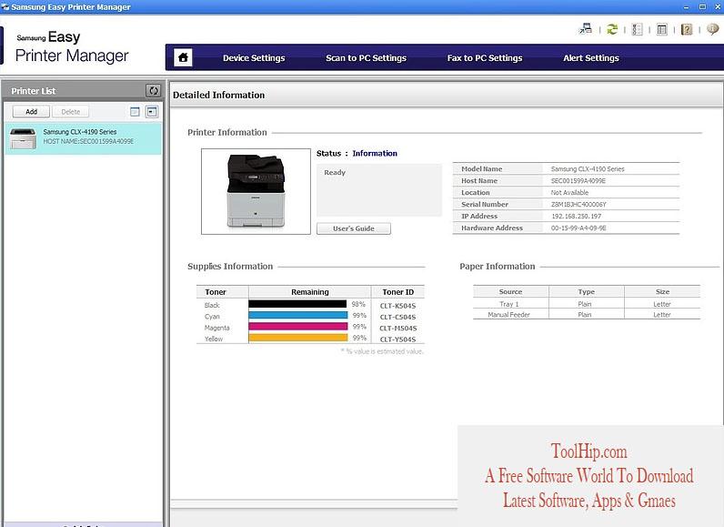 Samsung Easy Printer Manager Free