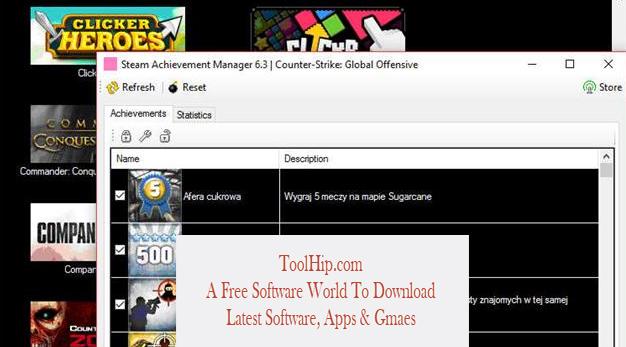 Steam Achievement Manager Free Download