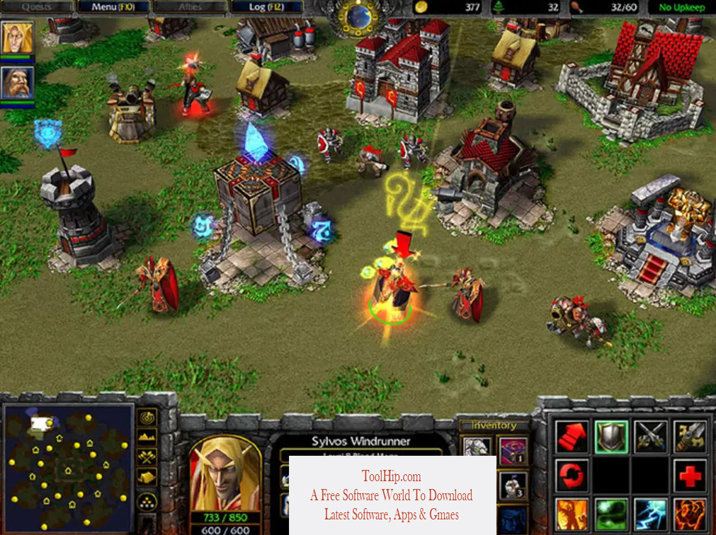 Warcraft III The Frozen Throne Download Free