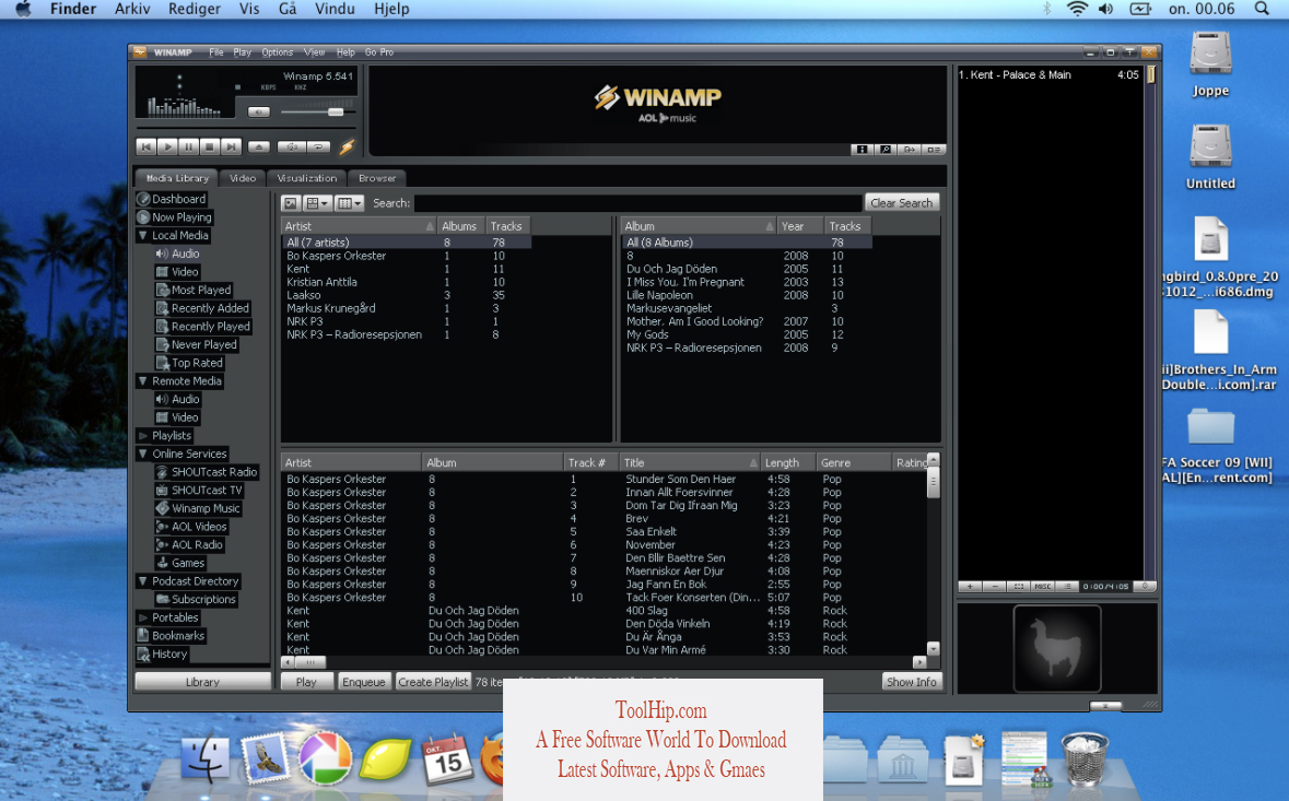 Winamp for Mac Free Download