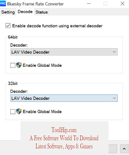 Bluesky Frame Rate Converter Download for Windows