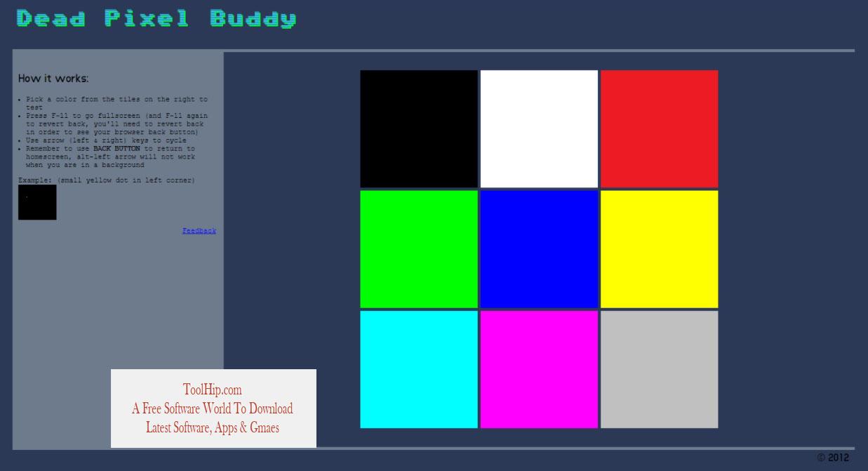 Dead Pixel Buddy Download for Windows
