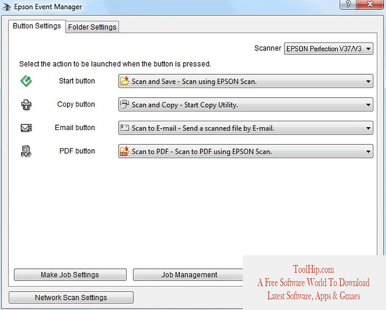 Epson event manager mac download