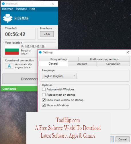 Hideman VPN Free