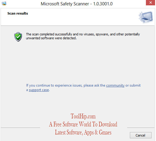 Microsoft Safety Scanner Download for Windows
